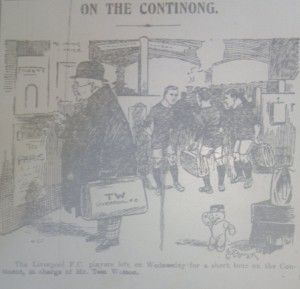 tour cartoon express 14th may 1910